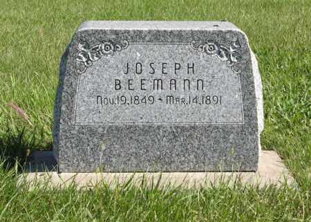 BEEMANN, JOSEPH - Lancaster County, Nebraska   JOSEPH BEEMANN - Nebraska Gravestone Photos
