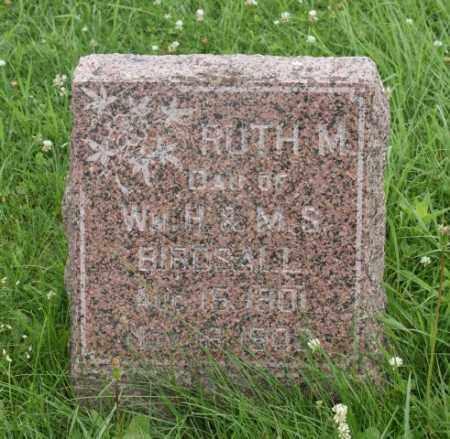 BIRDSALL, RUTH M. - Lancaster County, Nebraska | RUTH M. BIRDSALL - Nebraska Gravestone Photos