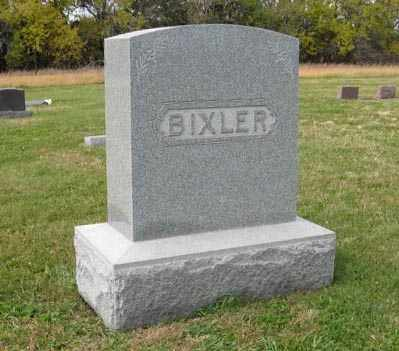 BIXLER, FAMILY - Lancaster County, Nebraska | FAMILY BIXLER - Nebraska Gravestone Photos