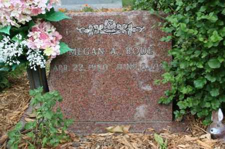 BODE, MEGAN A. - Lancaster County, Nebraska   MEGAN A. BODE - Nebraska Gravestone Photos