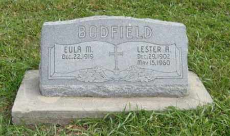 BODFIELD, LESTER A. - Lancaster County, Nebraska | LESTER A. BODFIELD - Nebraska Gravestone Photos