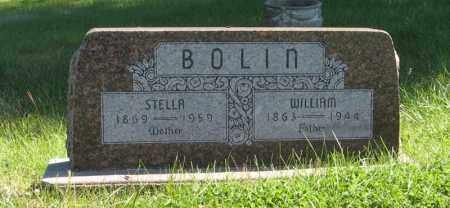 BOLIN, STELLA - Lancaster County, Nebraska | STELLA BOLIN - Nebraska Gravestone Photos