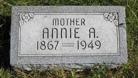 BROPHY, ANNIE A. - Lancaster County, Nebraska   ANNIE A. BROPHY - Nebraska Gravestone Photos