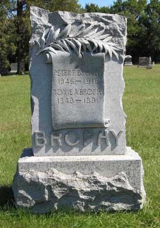 BROPHY, PETER F. - Lancaster County, Nebraska   PETER F. BROPHY - Nebraska Gravestone Photos