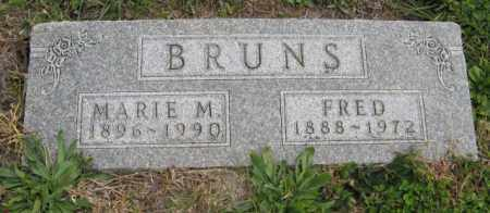 BRUNS, MARIE M. - Lancaster County, Nebraska | MARIE M. BRUNS - Nebraska Gravestone Photos