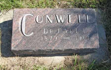 CONWELL, PAUL L. - Lancaster County, Nebraska | PAUL L. CONWELL - Nebraska Gravestone Photos