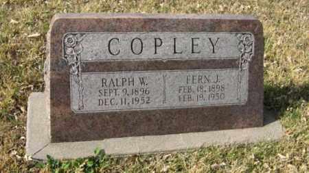 COPLEY, FERN J. - Lancaster County, Nebraska | FERN J. COPLEY - Nebraska Gravestone Photos