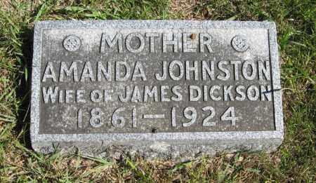 DICKSON, AMANDA - Lancaster County, Nebraska | AMANDA DICKSON - Nebraska Gravestone Photos
