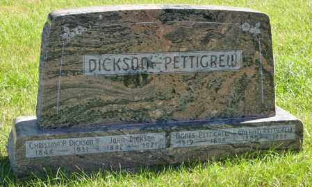 DICKSON, JOHN - Lancaster County, Nebraska | JOHN DICKSON - Nebraska Gravestone Photos