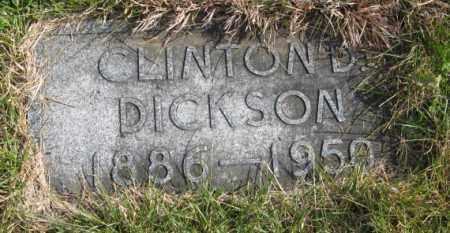 DICKSON, CLINTON D. - Lancaster County, Nebraska | CLINTON D. DICKSON - Nebraska Gravestone Photos