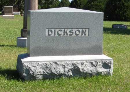 DICKSON, FAMILY - Lancaster County, Nebraska   FAMILY DICKSON - Nebraska Gravestone Photos