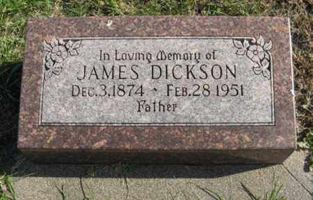 DICKSON, JAMES - Lancaster County, Nebraska | JAMES DICKSON - Nebraska Gravestone Photos