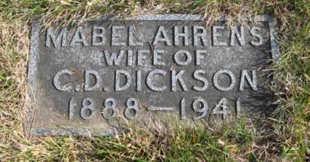 DICKSON, MABEL - Lancaster County, Nebraska | MABEL DICKSON - Nebraska Gravestone Photos