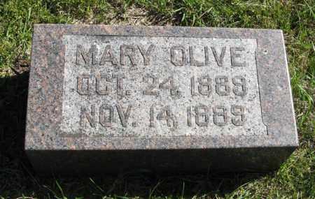 DICKSON, MARY OLIVE - Lancaster County, Nebraska | MARY OLIVE DICKSON - Nebraska Gravestone Photos