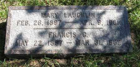 LAUGHLIN DICKSON, MARY - Lancaster County, Nebraska | MARY LAUGHLIN DICKSON - Nebraska Gravestone Photos