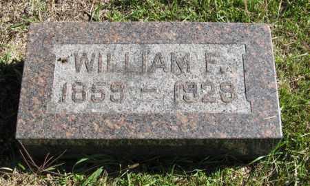 DICKSON, WILLIAM F. - Lancaster County, Nebraska | WILLIAM F. DICKSON - Nebraska Gravestone Photos