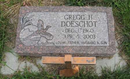 DOESCHOT, GREGG H. - Lancaster County, Nebraska | GREGG H. DOESCHOT - Nebraska Gravestone Photos