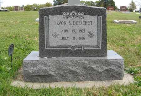 DOESCHOT, LAVON - Lancaster County, Nebraska | LAVON DOESCHOT - Nebraska Gravestone Photos