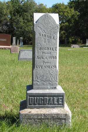 DUGDALE, SARAH A. - Lancaster County, Nebraska | SARAH A. DUGDALE - Nebraska Gravestone Photos