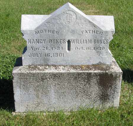 DUKES, WILLIAM - Lancaster County, Nebraska | WILLIAM DUKES - Nebraska Gravestone Photos