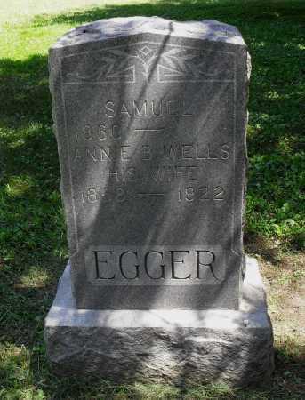 EGGER, SAMUEL - Lancaster County, Nebraska | SAMUEL EGGER - Nebraska Gravestone Photos