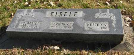 EISELE, FRANK C. - Lancaster County, Nebraska | FRANK C. EISELE - Nebraska Gravestone Photos