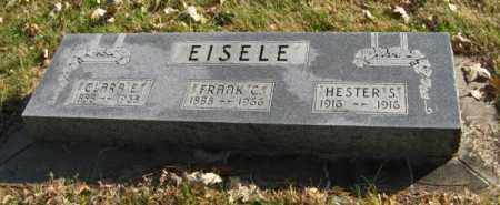 EISELE, CLARA E. - Lancaster County, Nebraska | CLARA E. EISELE - Nebraska Gravestone Photos