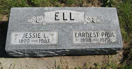 ELL, EARNEST PAUL - Lancaster County, Nebraska | EARNEST PAUL ELL - Nebraska Gravestone Photos