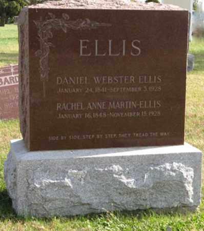 ELLIS, RACHEL ANNE - Lancaster County, Nebraska | RACHEL ANNE ELLIS - Nebraska Gravestone Photos