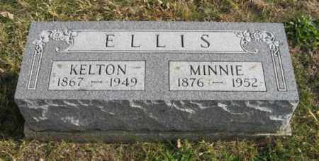 ELLIS, MINNIE - Lancaster County, Nebraska | MINNIE ELLIS - Nebraska Gravestone Photos