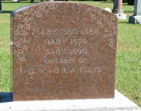 ELLIS, MARY - Lancaster County, Nebraska | MARY ELLIS - Nebraska Gravestone Photos