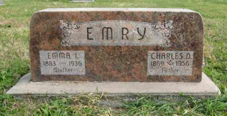 EMRY, CHARLES D. - Lancaster County, Nebraska | CHARLES D. EMRY - Nebraska Gravestone Photos