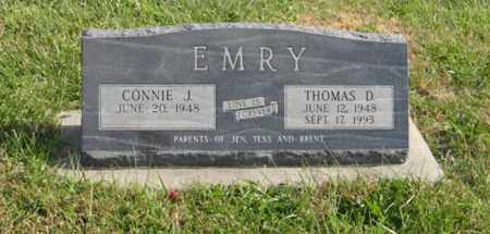 EMRY, CONNIE J. - Lancaster County, Nebraska | CONNIE J. EMRY - Nebraska Gravestone Photos