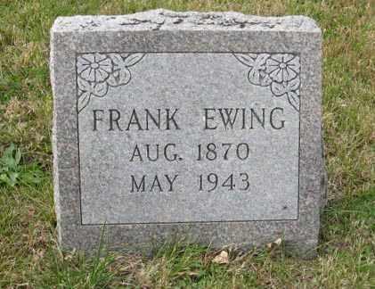 EWING, FRANK - Lancaster County, Nebraska   FRANK EWING - Nebraska Gravestone Photos