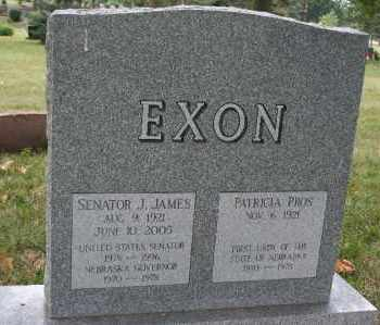 EXON, J. JAMES - Lancaster County, Nebraska | J. JAMES EXON - Nebraska Gravestone Photos