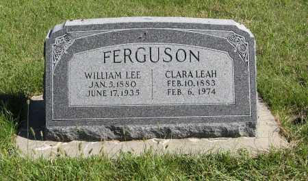 FERGUSON, WILLIAM LEE - Lancaster County, Nebraska | WILLIAM LEE FERGUSON - Nebraska Gravestone Photos