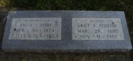 FERRY, HATTIE E - Lancaster County, Nebraska | HATTIE E FERRY - Nebraska Gravestone Photos