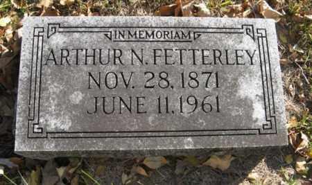 FETTERLEY, ARTHUR N. - Lancaster County, Nebraska | ARTHUR N. FETTERLEY - Nebraska Gravestone Photos
