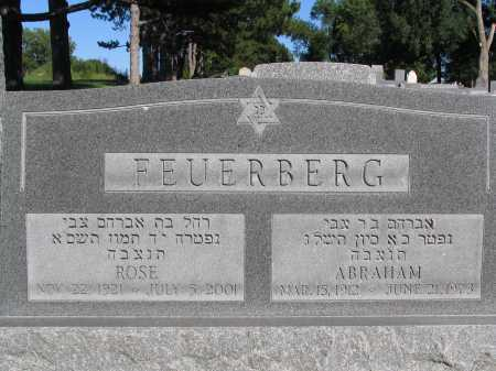 FEUERBERG, ROSE - Lancaster County, Nebraska | ROSE FEUERBERG - Nebraska Gravestone Photos