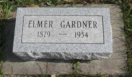 GARDNER, ELMER - Lancaster County, Nebraska | ELMER GARDNER - Nebraska Gravestone Photos