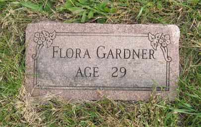 GARDNER, FLORA - Lancaster County, Nebraska | FLORA GARDNER - Nebraska Gravestone Photos