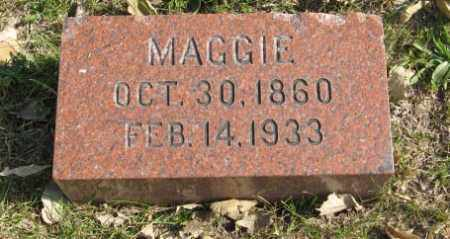GARDNER, MAGGIE - Lancaster County, Nebraska | MAGGIE GARDNER - Nebraska Gravestone Photos