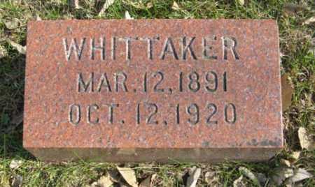 GARDNER, WHITTAKER - Lancaster County, Nebraska | WHITTAKER GARDNER - Nebraska Gravestone Photos