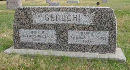 GENUCHI, JOSEPH O. - Lancaster County, Nebraska   JOSEPH O. GENUCHI - Nebraska Gravestone Photos