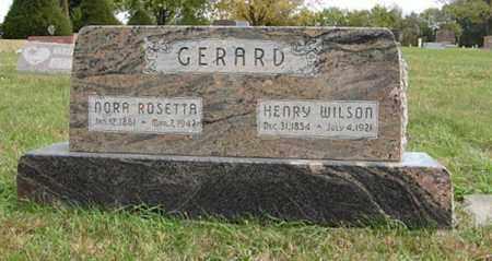 GERARD, HENRY WILSON - Lancaster County, Nebraska   HENRY WILSON GERARD - Nebraska Gravestone Photos