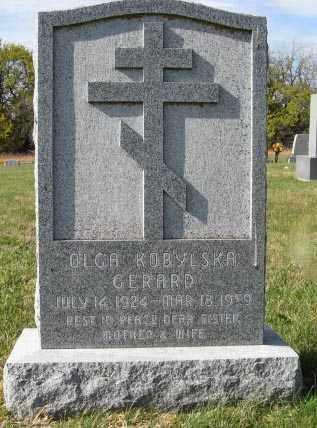 GERARD, OLGA - Lancaster County, Nebraska | OLGA GERARD - Nebraska Gravestone Photos