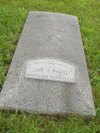 GLOVER, JOHN E - Lancaster County, Nebraska | JOHN E GLOVER - Nebraska Gravestone Photos