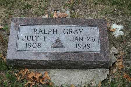 GRAY, RALPH - Lancaster County, Nebraska | RALPH GRAY - Nebraska Gravestone Photos