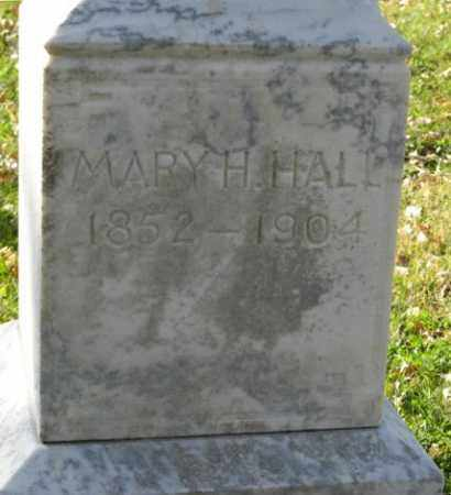 HALL, MARY H. - Lancaster County, Nebraska   MARY H. HALL - Nebraska Gravestone Photos