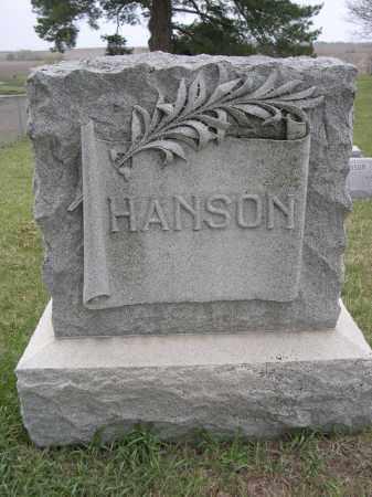 HANSON, FAMILY - Lancaster County, Nebraska   FAMILY HANSON - Nebraska Gravestone Photos